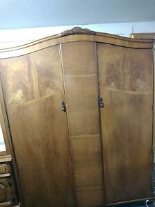 Armoire Wardrobe Antique French Style Mahogany N Norman London