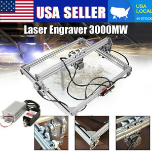 50x65cm 3000mw Area Mini Laser Engraving Machine Diy Kit Desktop Laser Printer