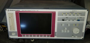 Rohde Schwarz Vsa Video Measurement System And Vca Video Component Analyzer