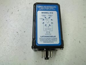 Vorne Industrial Model 212 Latching Relay used