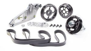 Jones Racing Products 1004 S Ce Aluminum Serpentine Pulley Kit For Sbc