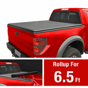 Tonneau Cover Soft Tri Fold For Chevy Gmc Sierra Fleetside 6 5ft Soft Short Bed