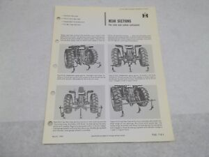 International Farmall Rear Sections Corn And Cotton Cultivator Sales Brochure