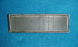 63 64 Ford Radio Or Heater Delete Plate Panel Galaxie Xl 500 R X Code 427