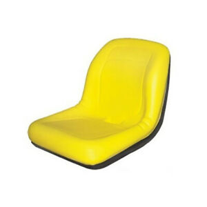 18 Yellow Seat Vg11696 For John Deere Gator 4x2 4x4 4x6 Replaces Am121752
