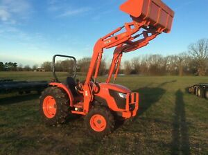 Kubota Mx5200 Tractor 4x4 Quick Attach Loader