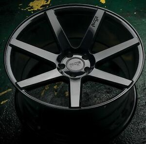4 New 19 Staggered Rims Wheels For 2010 2011 2012 Camaro Ls Lt Rs Ss Only 5717