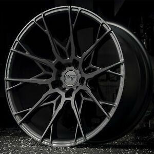 4 New 20 Staggered Rims Wheels For 2010 2011 2012 Camaro Ls Lt Rs Ss Only 5719