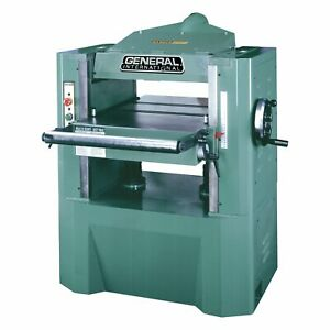 General International 30 360hcm1 5 Hp 20 inch Planer With Helical Cutterhead