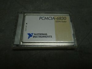 National Instruments Pcmcia 6830 Isdn Tester