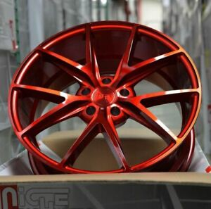 4 New 20 Staggered Rims Wheels For 2010 2011 2012 Camaro Ls Lt Rs Ss Only 5720