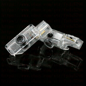 2x Led Projector Ghost Shadow Lights Door Logo For Mercedes Benz Gl Ml R Class