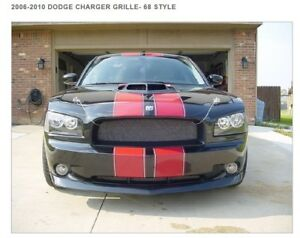 Dodge Charger Grille Custom 68 Style Charger Grill 2006 2007 2008 2009 2010