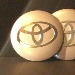 4pcs Wheel Center Caps Toyota Silver Emblem 56mm