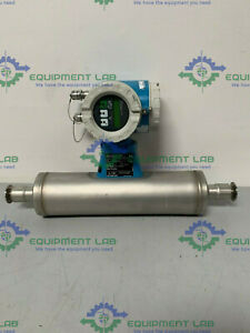 Endress Hauser Promass 63it25 fth40a00b1a 1 Triclamp Flowmeter