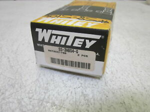 Lot Of 2 Whitey Ss 3nbs4 g Valve new In Box