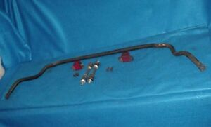 64 65 66 67 668 69 70 71 72 1 Chevelle Front Sway Bar Original With Bushings