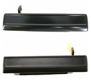 New Outside Door Handle Set Left Right Lh Rh Black For 82 92 Camaro Firebird