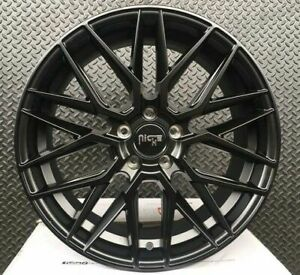 4 New 19 Staggered Rims Wheels For 2010 2011 2012 Camaro Ls Lt Rs Ss Only 5722