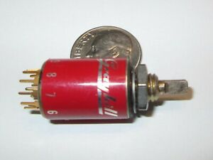 Grayhill Miniature Rotary Switch 1 2 Od Sp 8 2 Positions Isolated Read