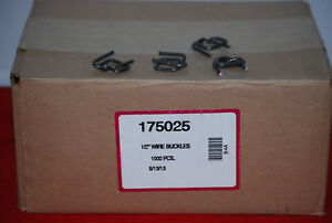 Wire Buckles For Poly Strapping