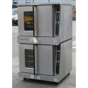 Garland Mco gd 10e Double Deck Gas Convection Oven Used Excellent Condition