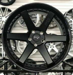 4 New 18 Staggered Rims Wheels For 2010 2011 2012 Camaro Ls Lt Rs Ss Only 5723