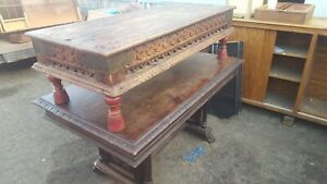 Antique Coffee Table Mexican Spanish Revival