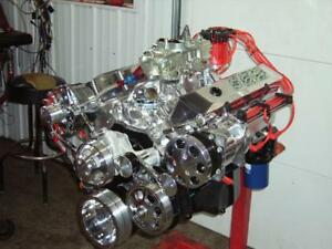 Sb Chevy 383 Cu In 435 hp Chevy Crate Engine Turn Key Hyd Roller Cam