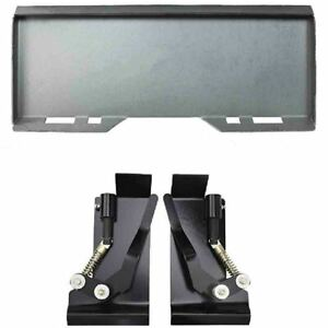 1 4 Quick Attach Mount Plate With Quick Tach Latch Box Brackets For Kubota