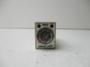Omron H3y 2 7 Timer Used