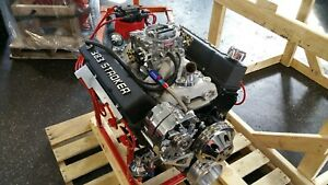Chevy 383 Cid 415 Hp Custom Crate Engine Turn Key Dyno Test 2 Year Warranty