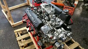 Chevy 383 Cid 420 hp Custom Crate Engine Turn Key Dyno Test 2 Year Warranty