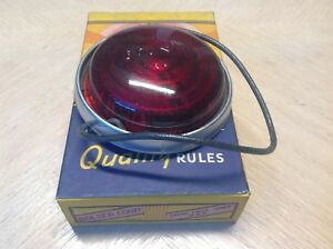 Nib Bolser Multi Ray B 327 12v Red Marker Lamp Vintage Truck Travel Trailer Nos