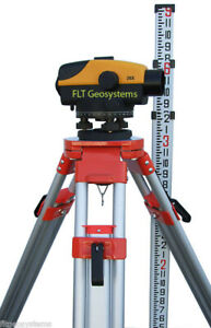 Northwest Ncl 26x Auto Level Package With Tripod Level Rod