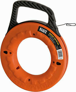 Klein Tools Depthfinder 1 8 inch X 062 X 65 ft Steel Fish Tape 56002