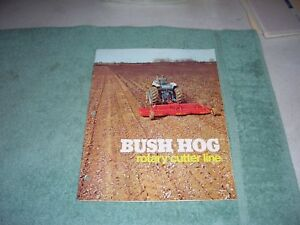 1970 s Bush Hog Rotary Cutter Brochure 310 315 109 126 12 307 502 266 1050