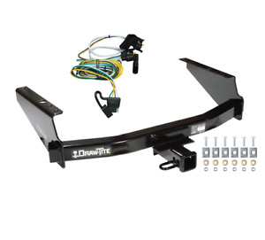 Trailer Tow Hitch For 97 04 Ford F150 Supercrew Flareside W Wiring Harness Kit