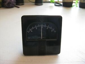 Westinghouse Type X 351 And Feed 3 Panel Meter 5 To 0