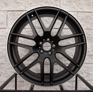 22 Mercedes Benz Ml Mesh Wheels Tires Style Rims Ml350 Ml500 Ml550 Ml55 Ml63