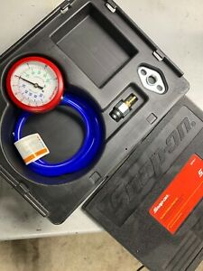 Snap On Tools Vacuum Pressure Gauge Complete Set Eepv511a With Hard Case