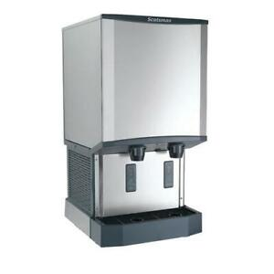 Scotsman Hid540a 1 Meridian 500 Lb Ice Maker dispenser With 40 Lb Storage
