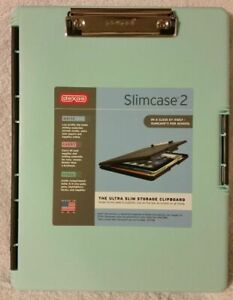 Case Of 6 Dexas Slimcase 2 Storage Clipboards With Side Opening