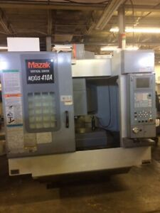 2003 Vmc Mazak 410a Cnc Vertical Machining Center Video Michigan