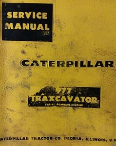 Caterpillar 977 Traxcavator Crawler Tractor Major Overhaul Service Manual 53a1