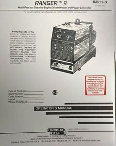 lincoln welder service manuals