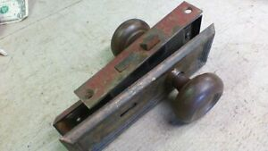 Vintage Door Knobs And Mortise Lock Hardware