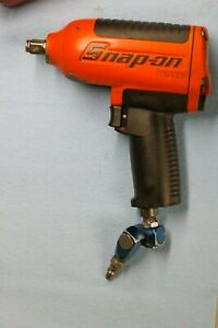 Snap On Mg725 Air Impact Wrench 1 2 Drive W Air Hose Swivel