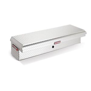 179 0 01 Weather Guard Aluminum Lo side Low Profile Truck Toolbox Passenger Side
