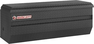 674 52 01 Weather Guard Matte Black Aluminum Chest Box 47 Truck Toolbox